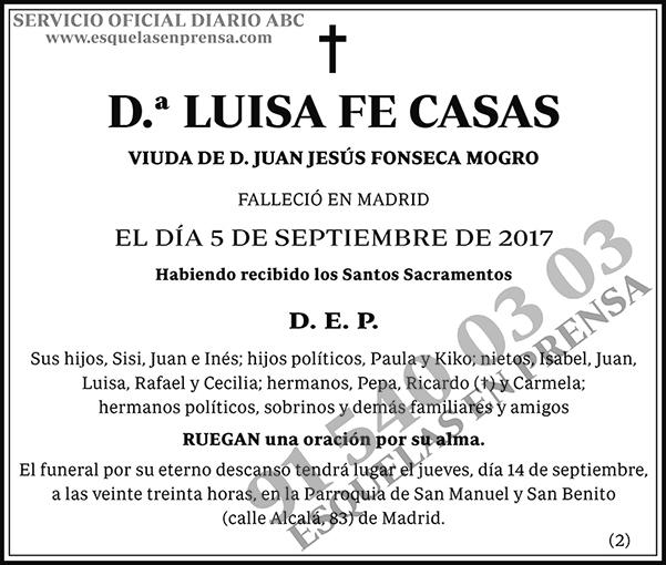 Luisa Fe Casas